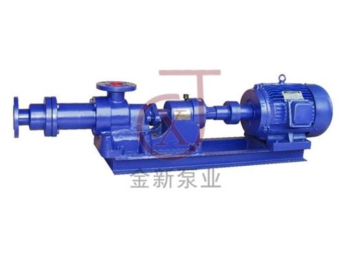1-1B型污泥螺杆泵(浓浆泵)